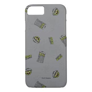 Coque iPhone 8/7 Oscar le motif gris du rouspéteur |