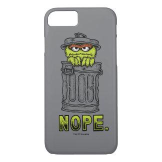 Coque iPhone 8/7 Oscar le rouspéteur - Nope.
