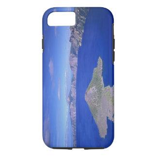 Coque iPhone 8/7 OU, lac NP crater, île de magicien et cratère