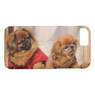 Coque iPhone 8/7 Paires de Pekingese