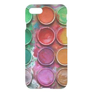 Coque iPhone 8/7 Palette colorée élégante de boîte de couleur de