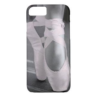 Coque iPhone 8/7 Pâlissez - les chaussures de ballet roses