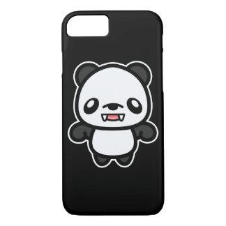 Coque iPhone 8/7 Panda mignon de vampire de Kawaii