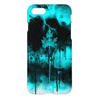 Coque iPhone 8/7 Panique de bleu/arbre