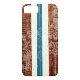 Coque iPhone 8/7 Panneau de surf de PixDezines/ketmie/Faux Koa