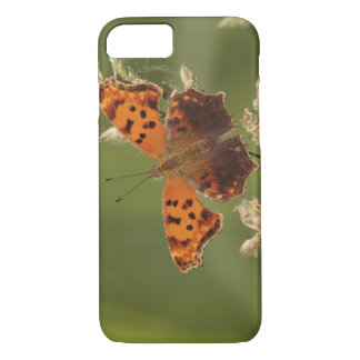 Coque iPhone 8/7 Papillon de point d'interrogation, Polygonia
