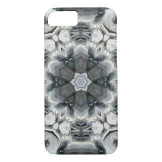 Coque iPhone 8/7 Papillon noir et blanc de roche