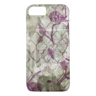 Coque iPhone 8/7 Papillons d'arabesque IV