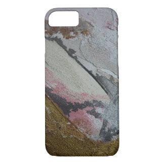 Coque iPhone 8/7 pastel en rose clair d'or