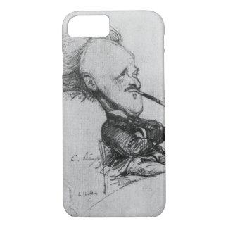 Coque iPhone 8/7 Paul Ferdinand Gachet (1862-1930) c.1887 (crayon o