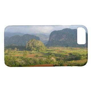 Coque iPhone 8/7 Paysage panoramique de vallée, Cuba