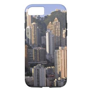 Coque iPhone 8/7 Paysage urbain de Hong Kong, Chine