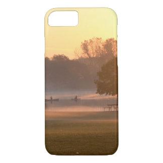 Coque iPhone 8/7 Pêche au lever de soleil