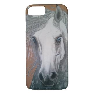 Coque iPhone 8/7 Peinture à l'huile équine phonecase.