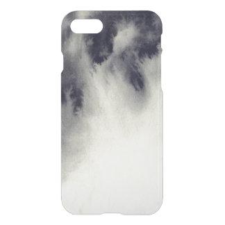 Coque iPhone 8/7 Peinture abstraite d'encre sur la texture de