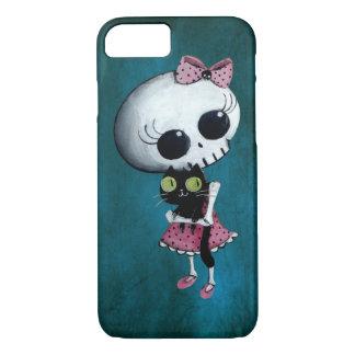 Coque iPhone 8/7 Petite Mlle Death - beauté de Halloween