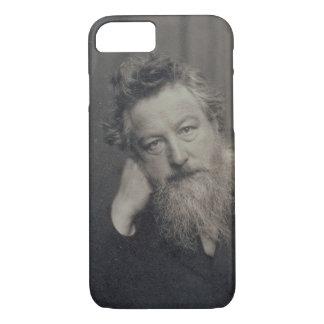 Coque iPhone 8/7 Photographie de portrait de William Morris