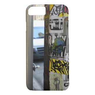 Coque iPhone 8/7 Photographie urbaine d'art de rue de graffiti de
