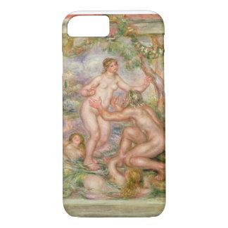 Coque iPhone 8/7 Pierre un Renoir | Saone coulant dans le Rhône