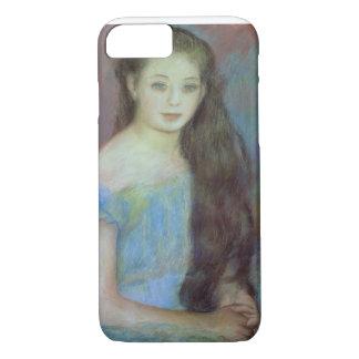Coque iPhone 8/7 Pierre une jeune fille de Renoir   avec des yeux