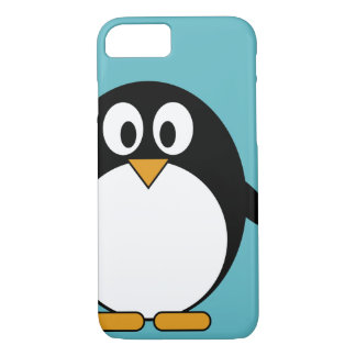 Coque iPhone 8/7 Pingouin mignon de bande dessinée