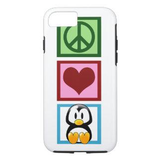 Coque iPhone 8/7 Pingouins d'amour de paix