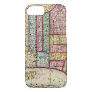 Coque iPhone 8/7 Plan de Philadelphie