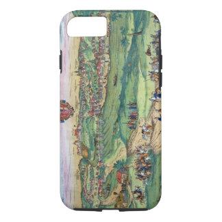 Coque iPhone 8/7 Plan de ville de Grodno, de 'Civitates Orbis