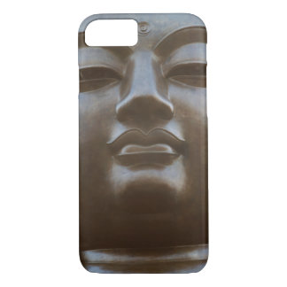 Coque iPhone 8/7 Plan rapproché de statue de Bouddha