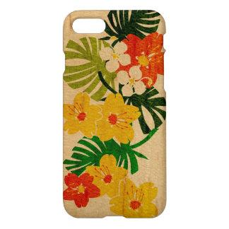 Coque iPhone 8/7 Planche de surf de Hawaïen de jardin de Limahuli