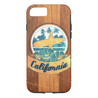 Coque iPhone 8/7 Planche de surf de la Californie