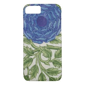 Coque iPhone 8/7 Plante avec une fleur bleue (la semaine sur le