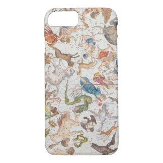 "Coque iPhone 8/7 Plat 26 de ""atlas Coelestis"", par John Flamsteed"