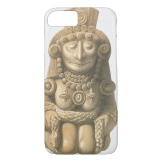 """Coque iPhone 8/7 Plat """"des monuments antiques du Mexique"""", 1866 (Li"""