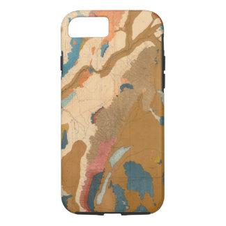 Coque iPhone 8/7 Plateau du Nevada géologique