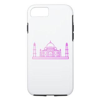 Coque iPhone 8/7 Points de repère - cas du Taj Mahal