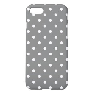 Coque iPhone 8/7 Pois gris