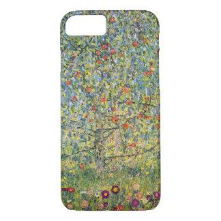 Coque iPhone 8/7 Pommier Par Gustav Klimt, art vintage Nouveau