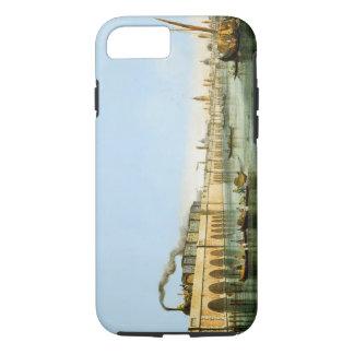 Coque iPhone 8/7 Pont au-dessus de la lagune, des 'vues de m