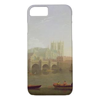 Coque iPhone 8/7 Pont d'Abbaye de Westminster et de Westminster vu