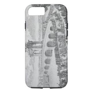 Coque iPhone 8/7 Pont d'Augustus dessus par l'intermédiaire de