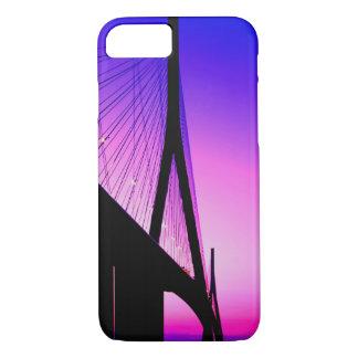 Coque iPhone 8/7 Pont de la Normandie, le Havre, France
