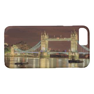 Coque iPhone 8/7 Pont de tour la nuit, Londres