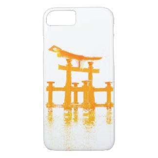 Coque iPhone 8/7 Porte de Torii dans le cas de téléphone portable