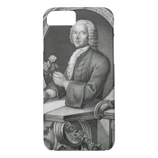 Coque iPhone 8/7 Portrait de 1710-70) engrav de Georg Dionysius