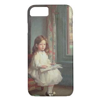 Coque iPhone 8/7 Portrait de Clara Hughes, 1902 (huile sur la