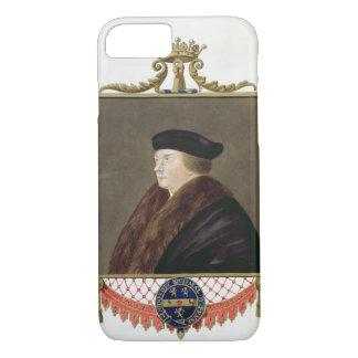 Coque iPhone 8/7 Portrait de comte d'IST de Thomas Cromwell