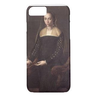 Coque iPhone 8/7 Portrait de dame, 1559 (huile sur le panneau)