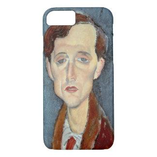 Coque iPhone 8/7 Portrait de Franz Hellens, 1919 (huile sur la