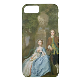 Coque iPhone 8/7 Portrait de George et de Margaret Rogers,